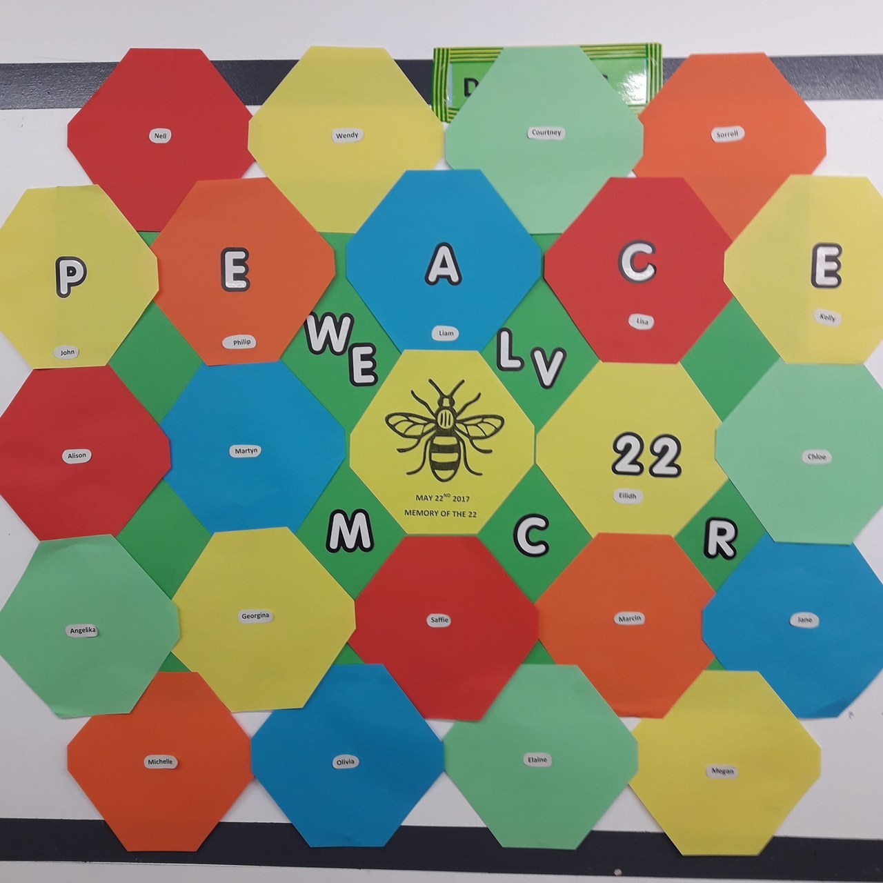 Remembering Manchester bomb victims | Asda Reddish