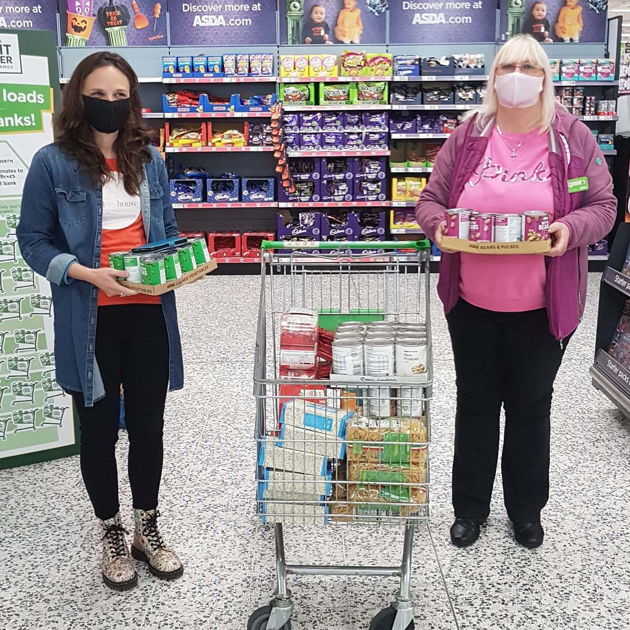 Food bank support | Asda Pilsworth