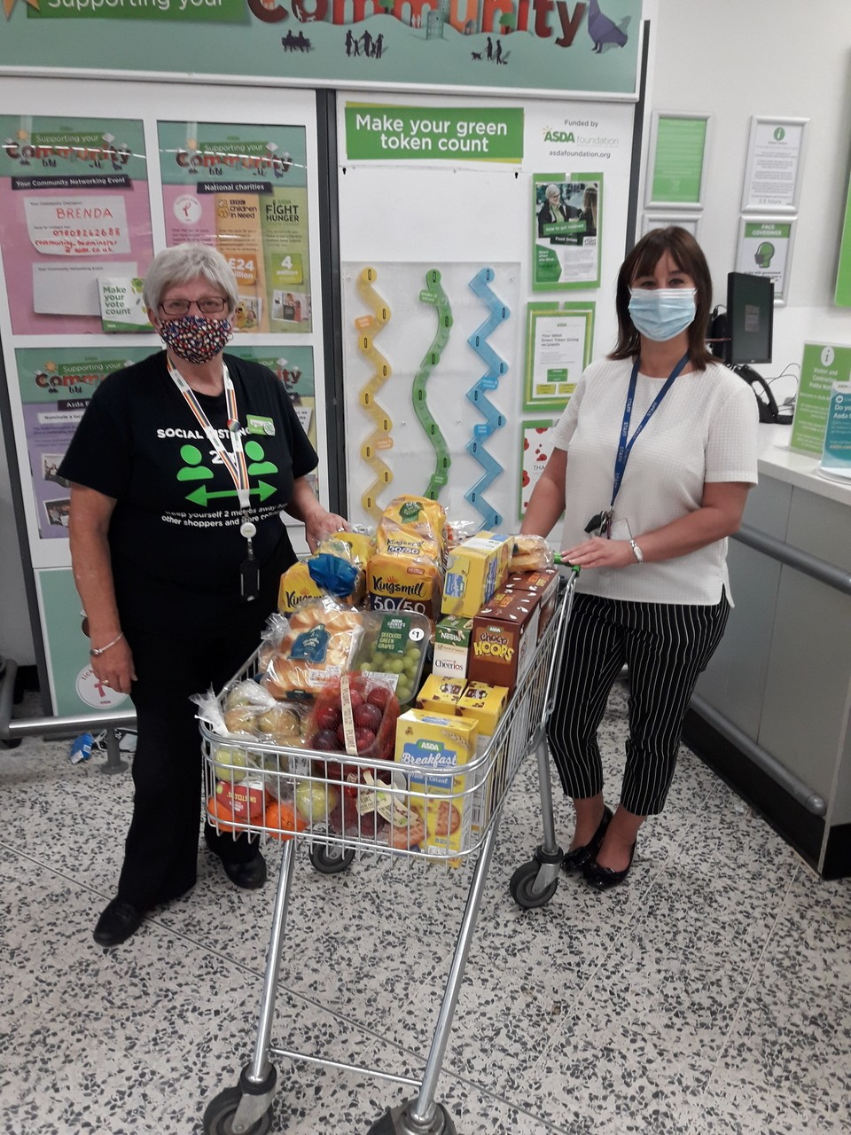 Holy Cross Primary School donation | Asda Bedminster