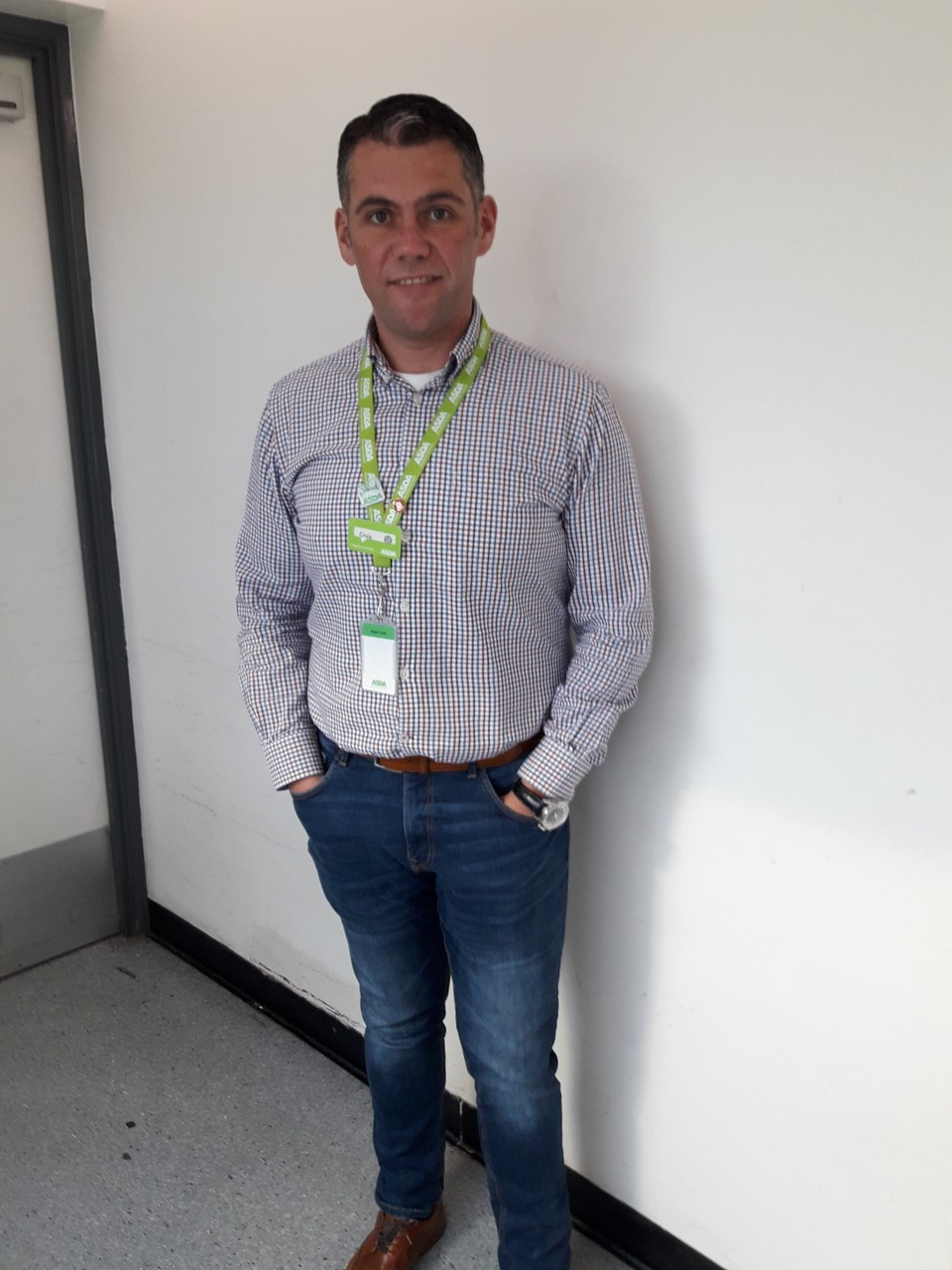 Warm welcome for all from Asda Chatham store manager Craig | Asda Chatham