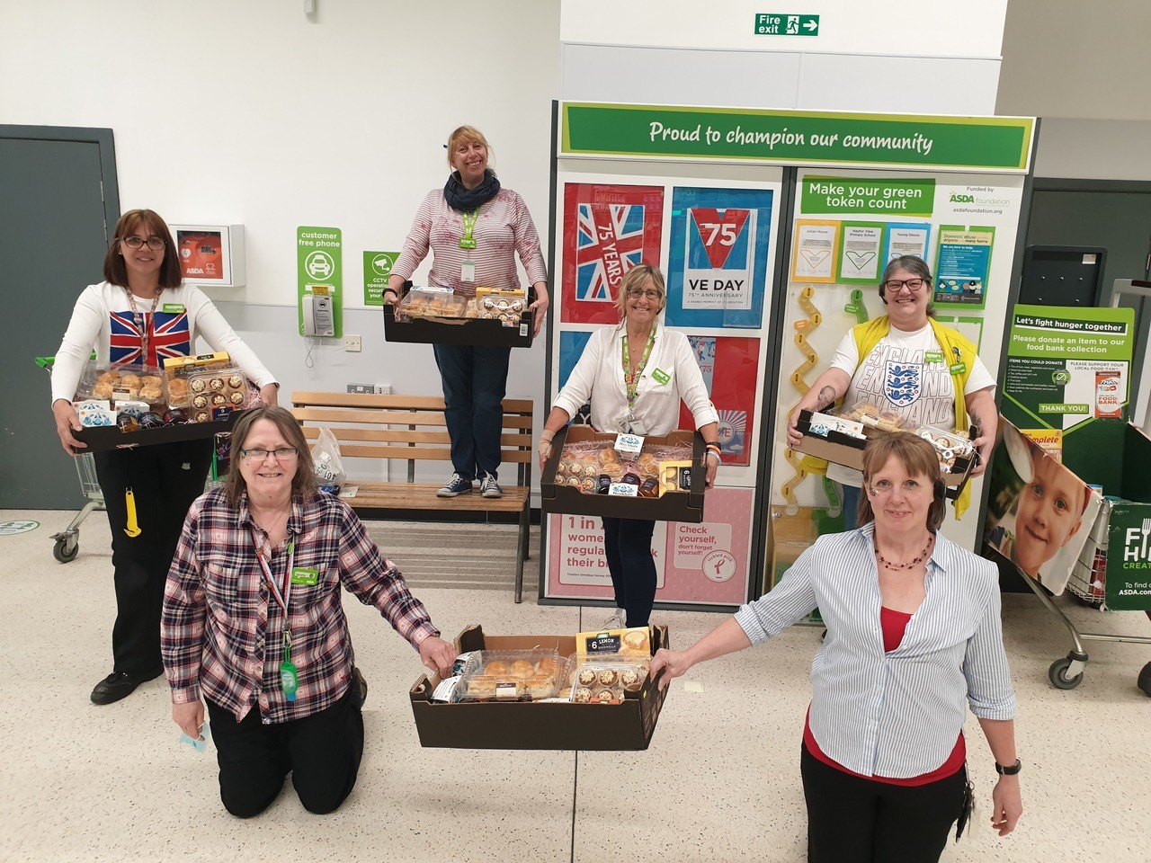 VE Day donations | Asda Newton Abbot