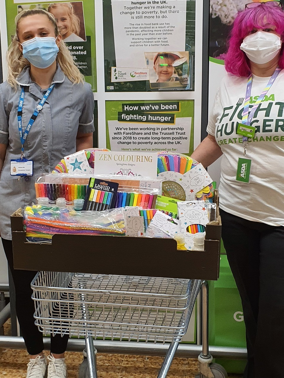 Supporting Mental Health Week at Fosse Park | Asda Leicester