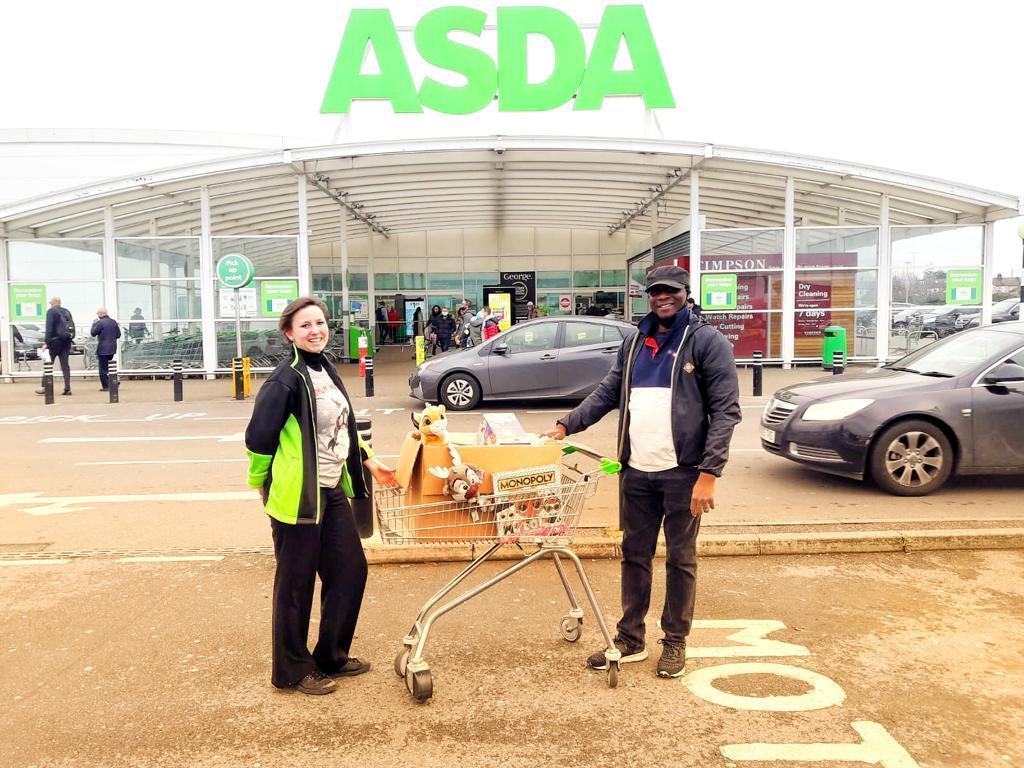 UCKG Gift Appeal | Asda Leyton Mills