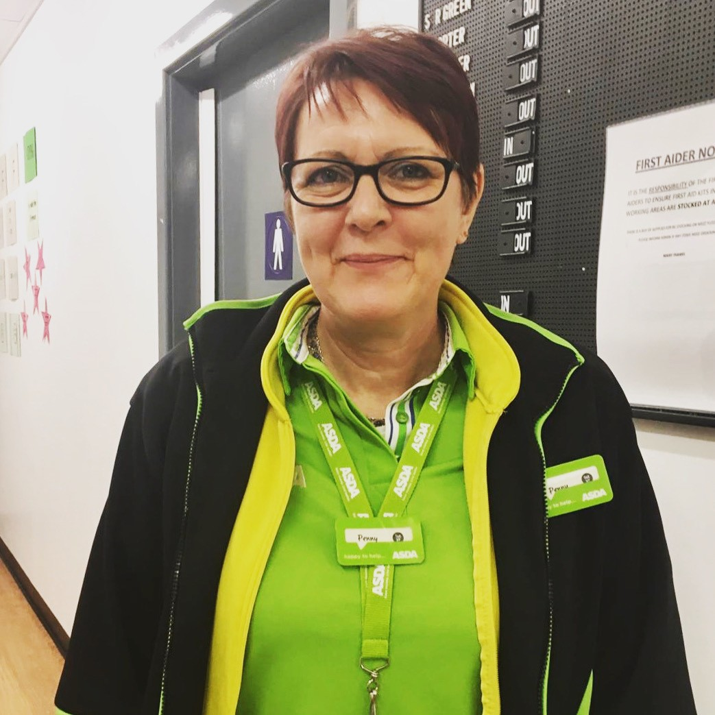 New colleague Penny is part of the family at Asda Frome   Asda Frome
