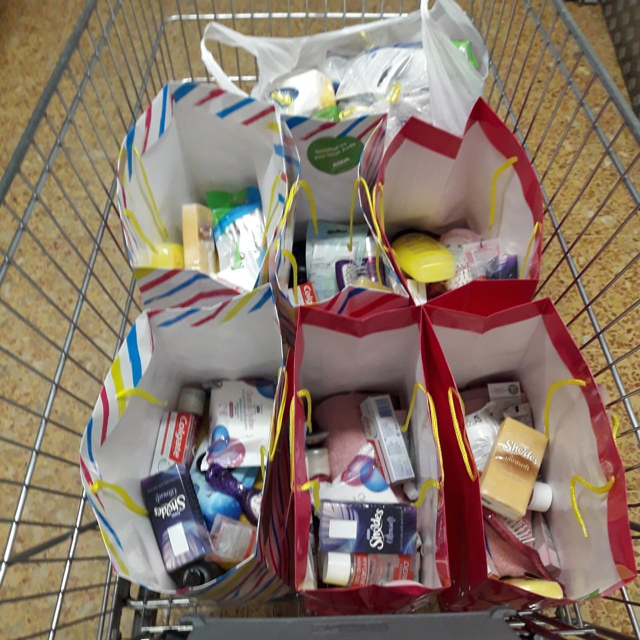Comfort bags   Asda Crewe