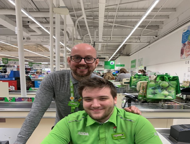 Oren Brown and Dean Holliday from Asda Spennymoor