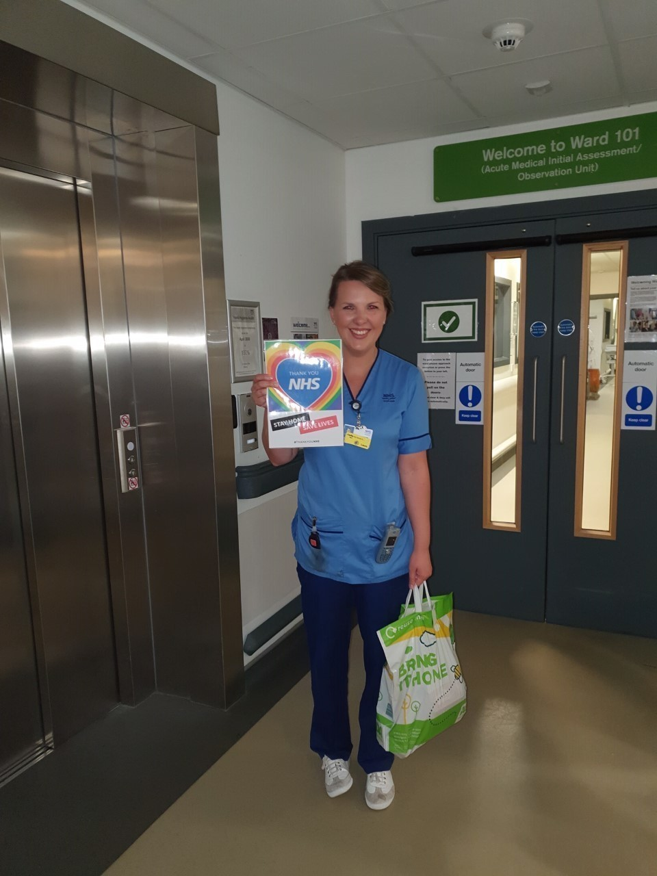 Ward 101, Aberdeen Royal Infirmary | Asda Dyce
