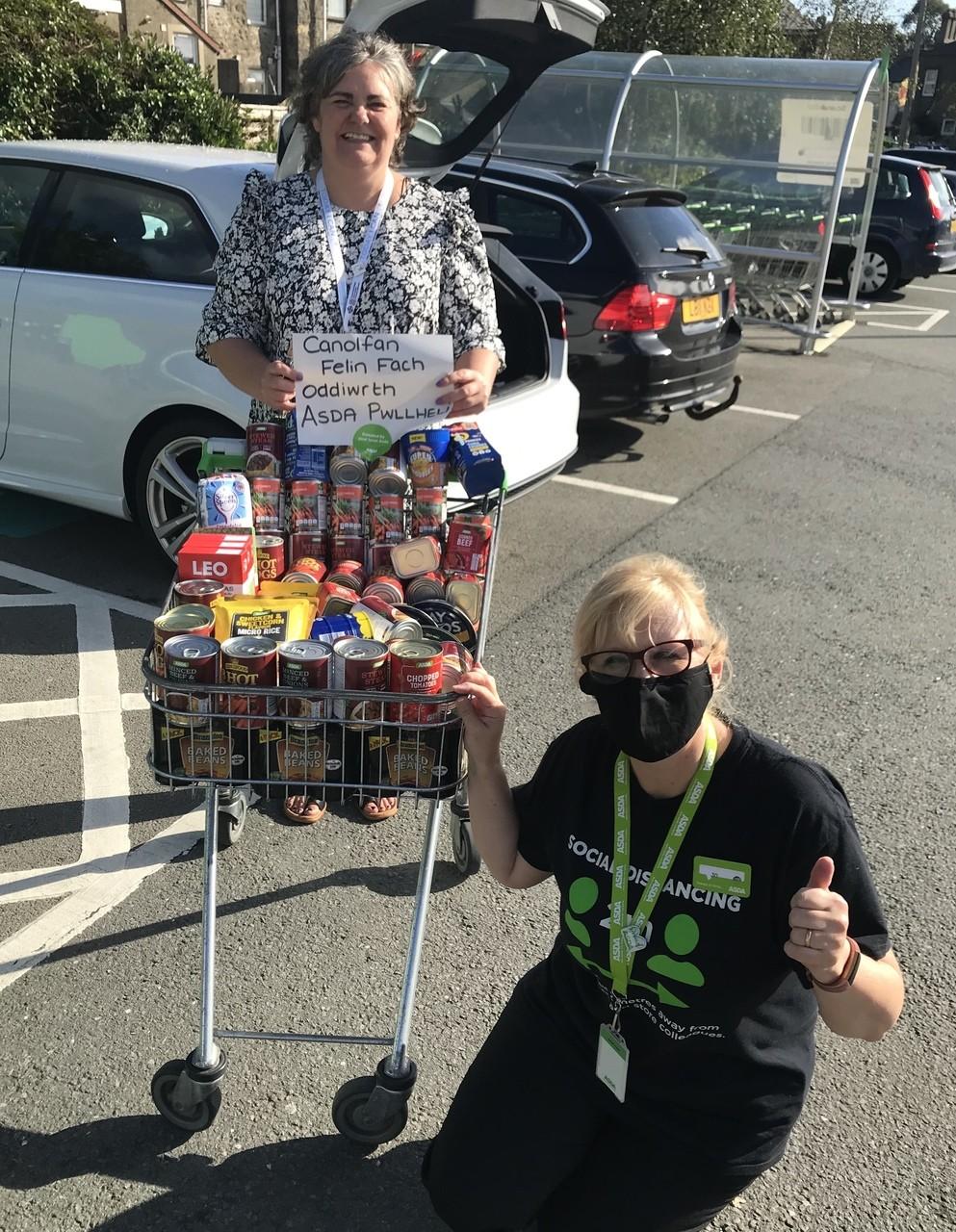 Donation to Canolfan Felin | Asda Pwllheli