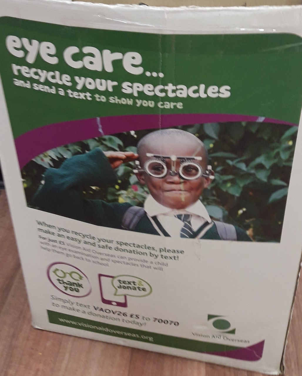 Glasses donation by Rainbows | Asda Westbrook