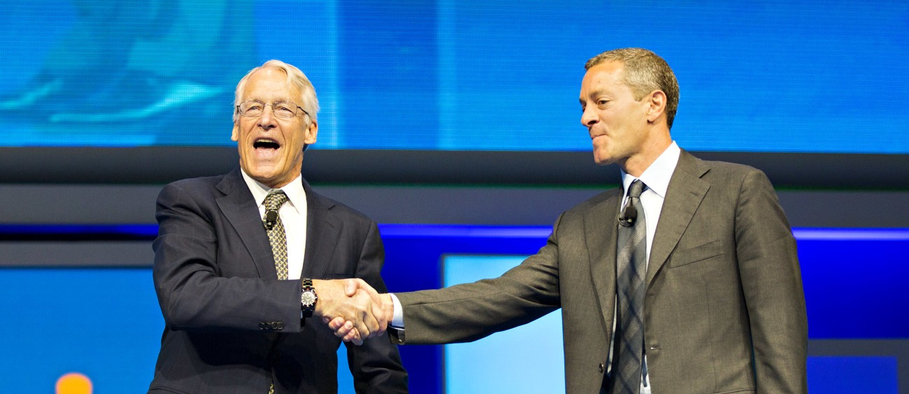 Rob Walton Introduces Incoming Board Chairman Greg Penner at the 2015 Walmart Shareholders Meeting