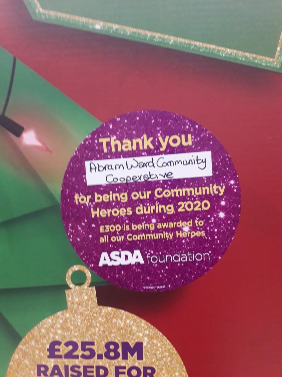 Christmas Giving Heroes | Asda Golborne