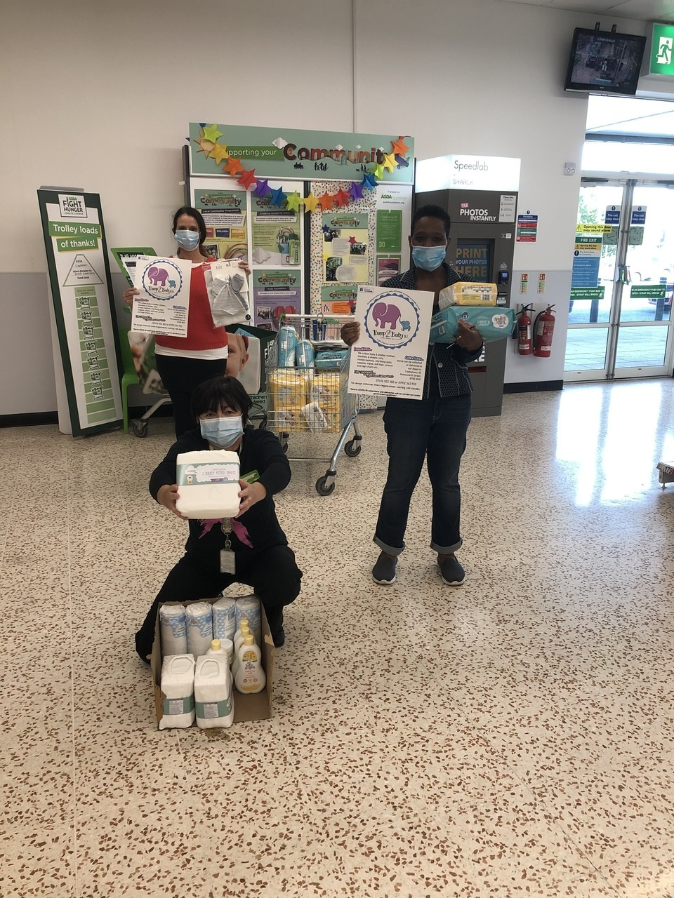 Donation of Goods Helps To New Baby Bank Launch in Mid-Ulster | Asda Cookstown