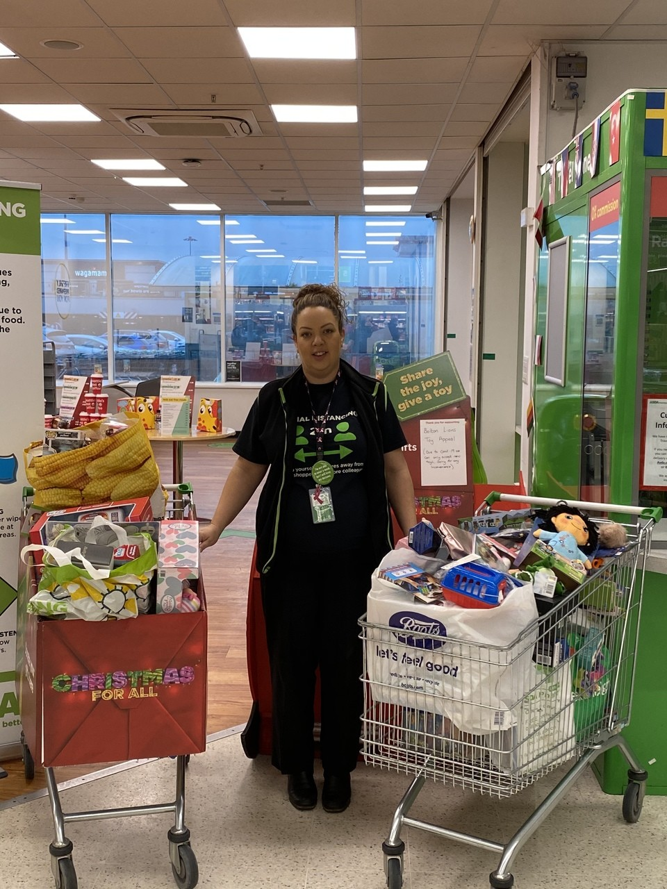 Christmas toy appeal  | Asda Horwich