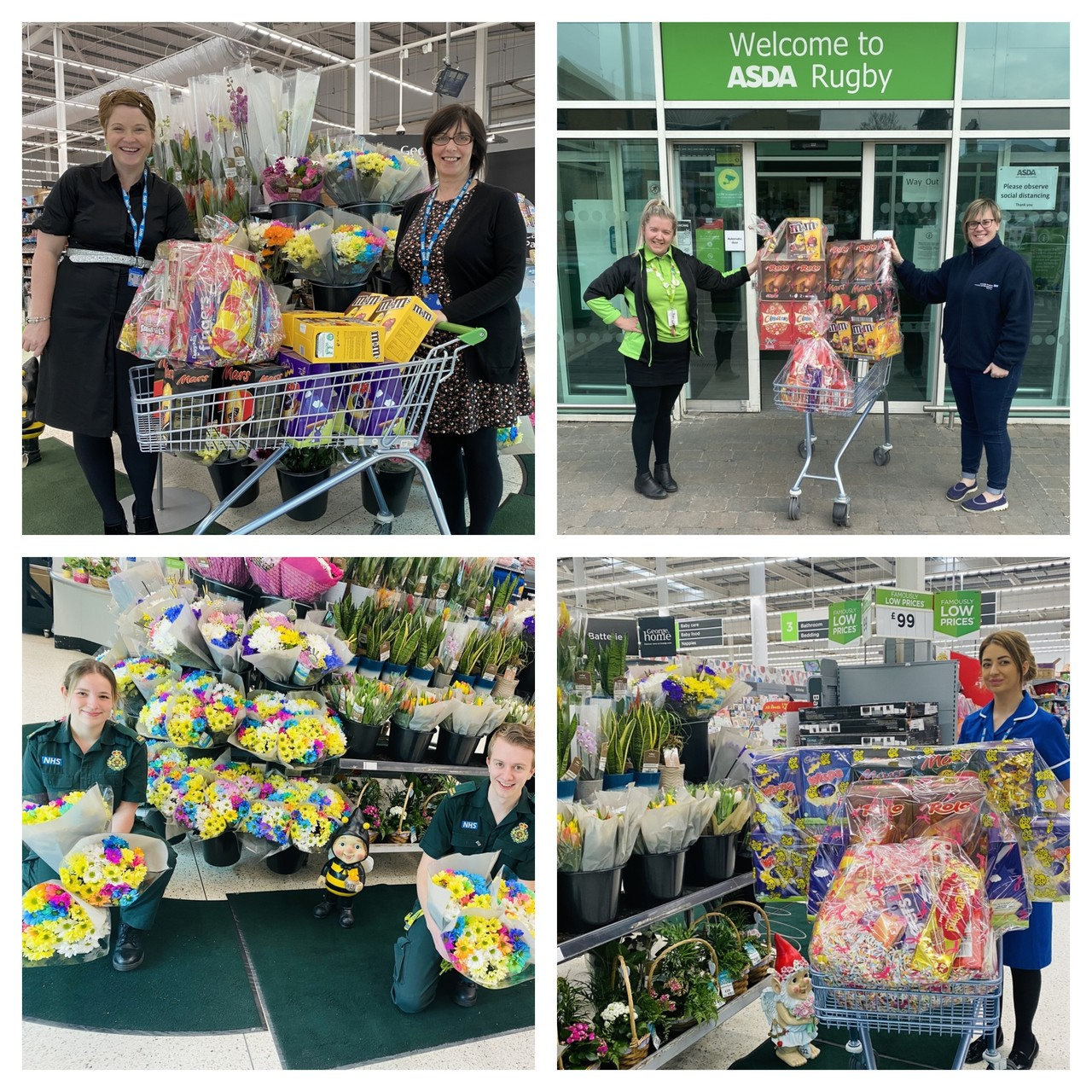 Easter eggs for NHS workers | Asda Rugby