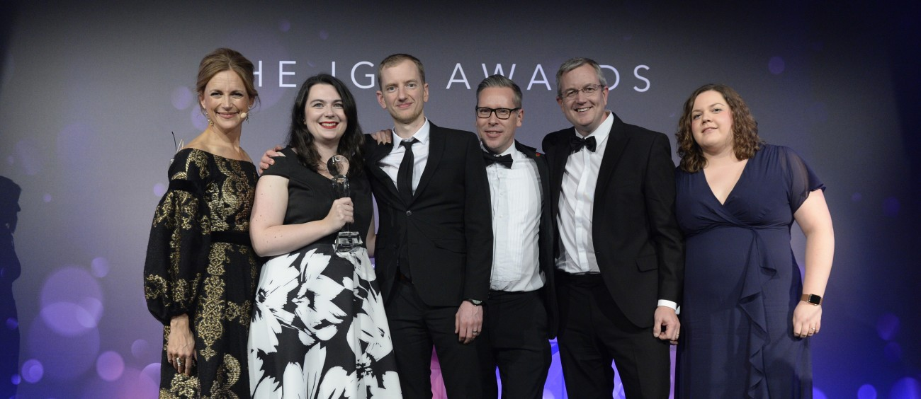 Asda online team scoops the IGD Retail Commerce award