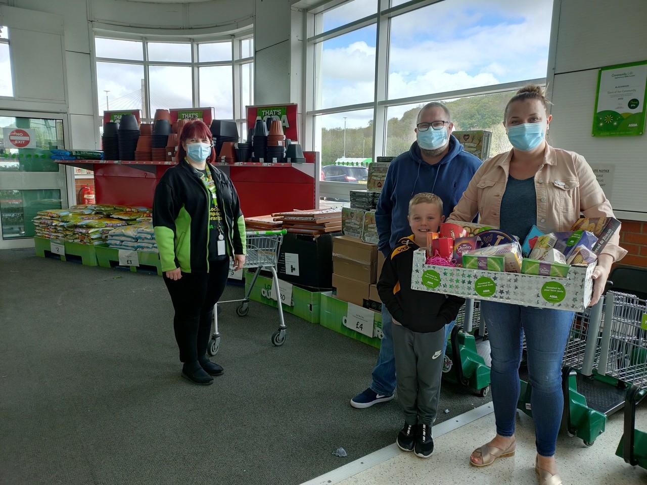 Local donation | Asda Blackwood