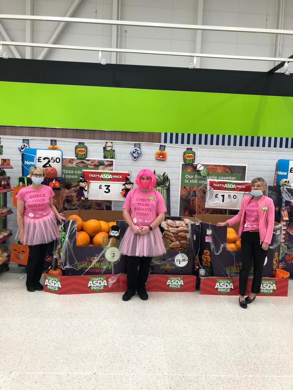 Going Pink at Great Bridge | Asda Great Bridge
