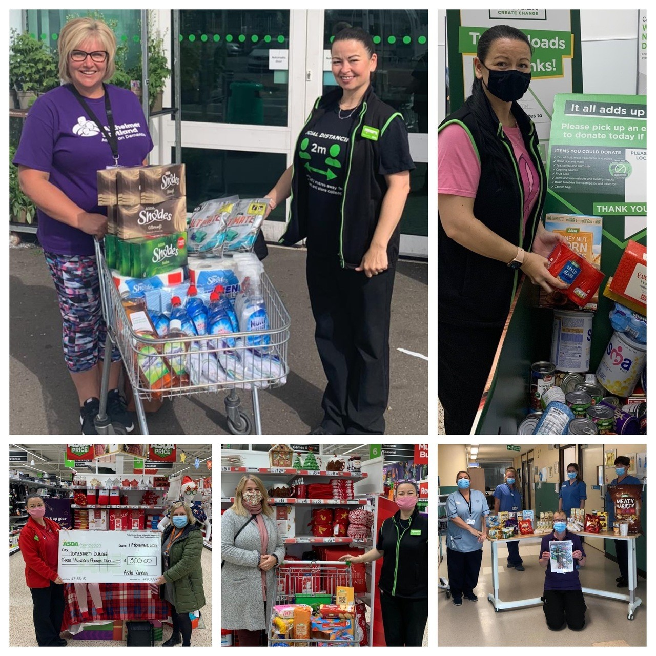 Grants of £17,353 given to groups and schools in the community since start of pandemic | Asda Dundee Kirkton