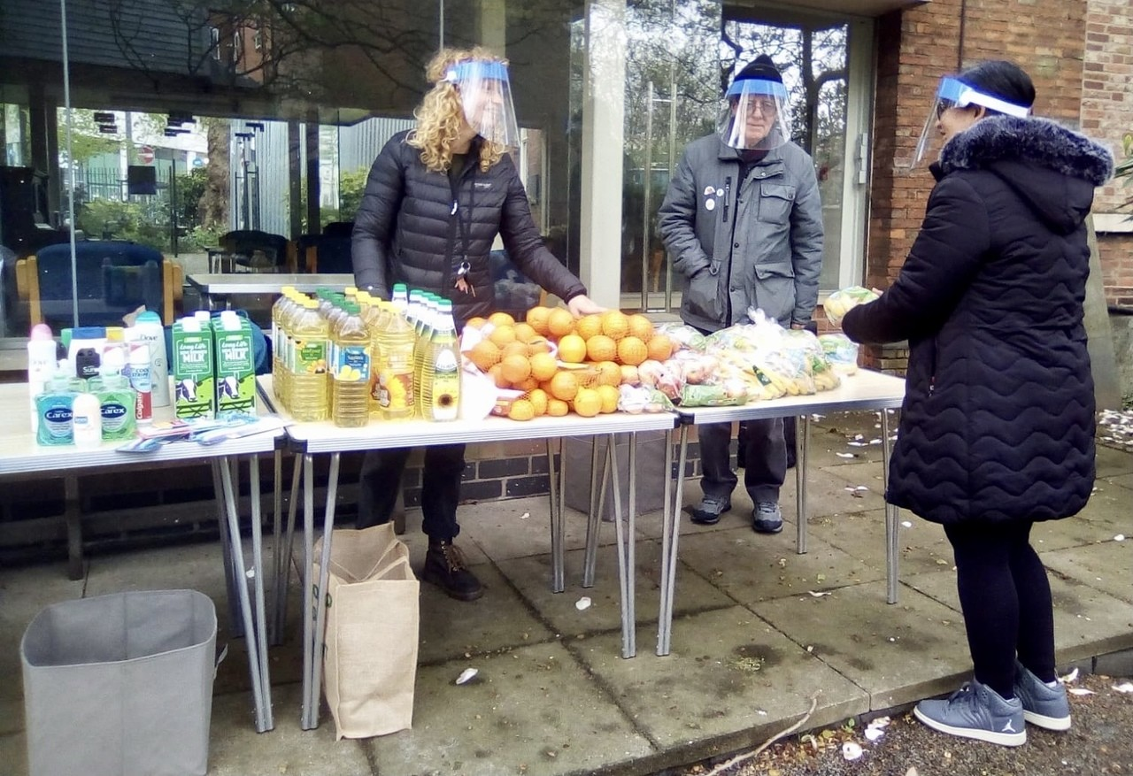 Distribution of Supporting Community Grant Goods | Asda Leicester Abbey Lane