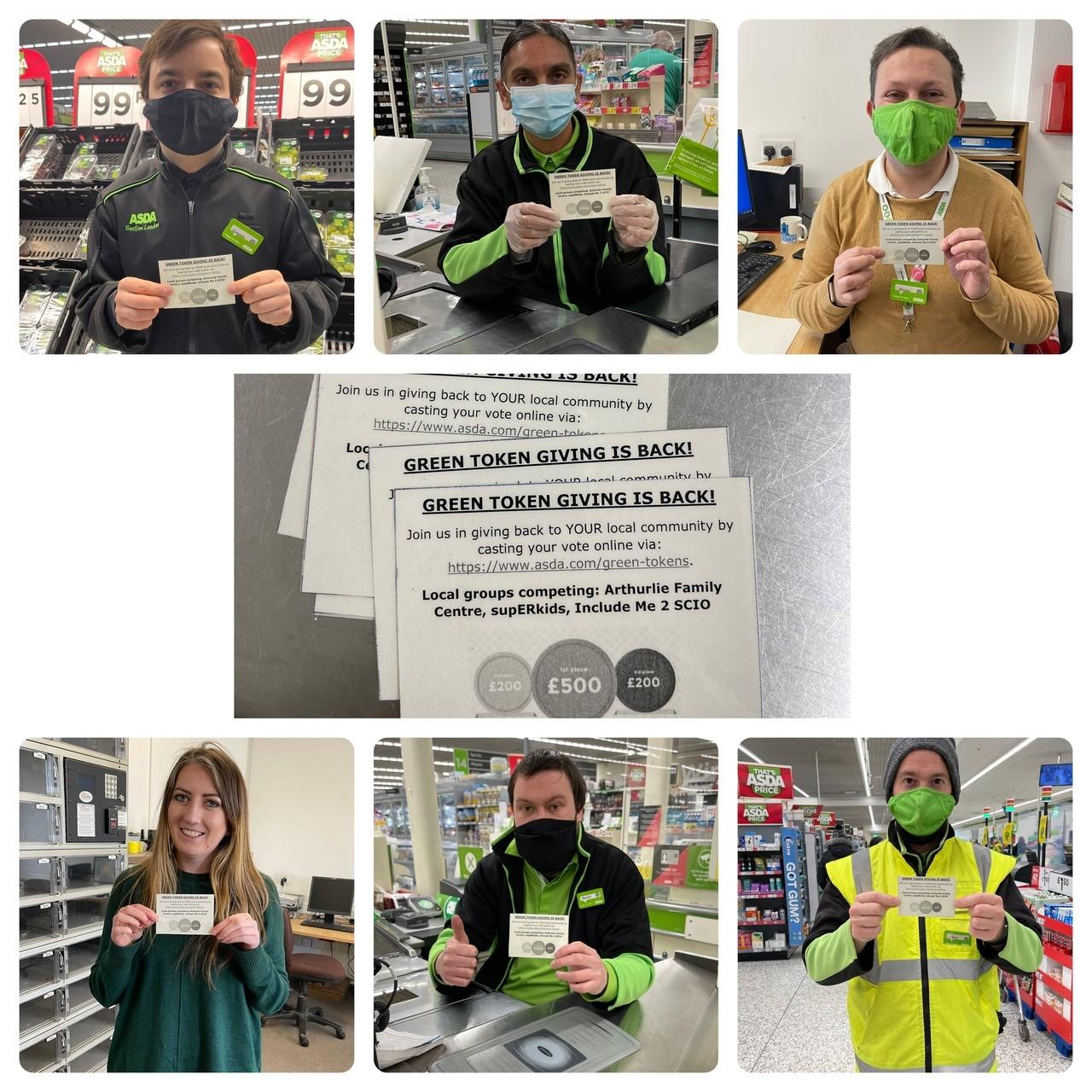 Green Token Giving is back! | Asda Newton Mearns