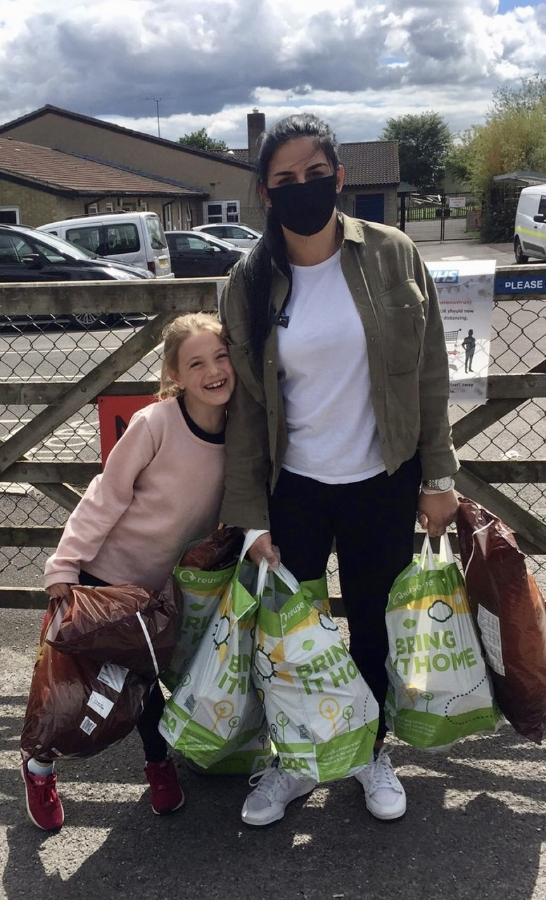 Donation to Christ Church C of E First School to help with food parcels | Asda Frome