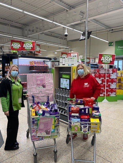 Unmanned Easter Egg collection | Asda Adel
