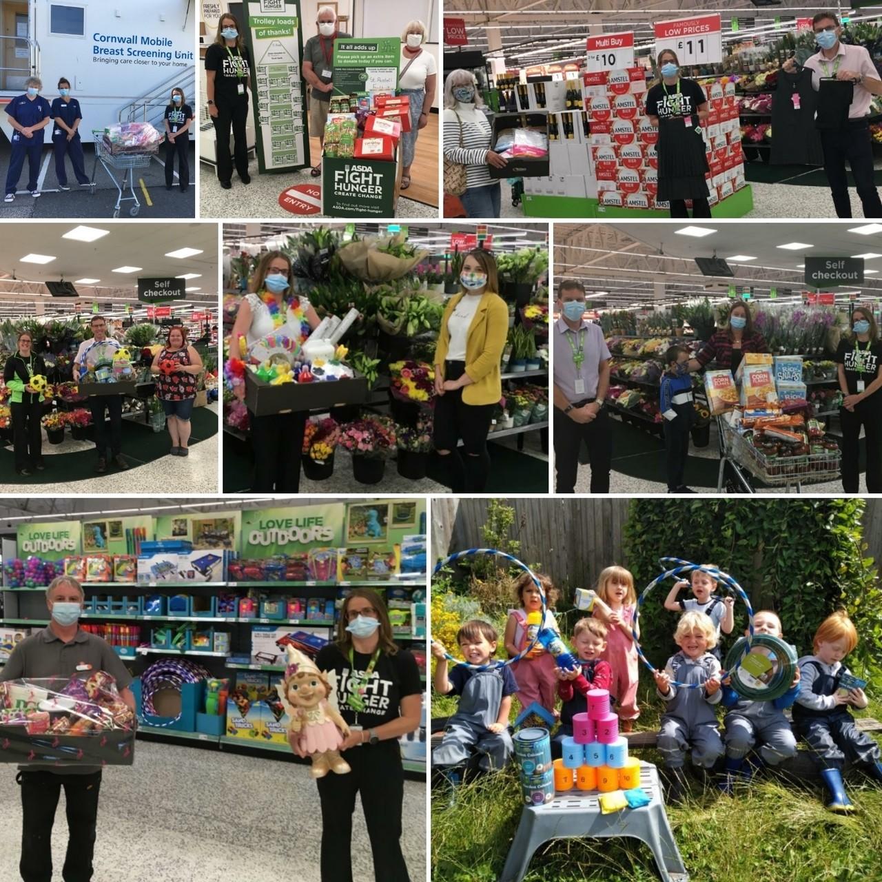 Helping the community | Asda St Austell