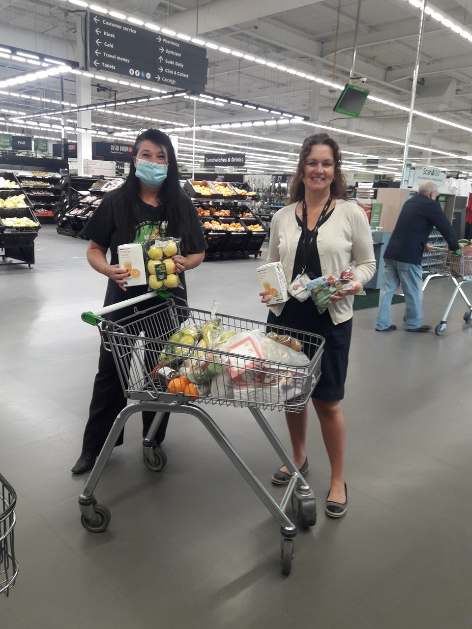 Healthy eating donation from Asda Patchway | Asda Patchway
