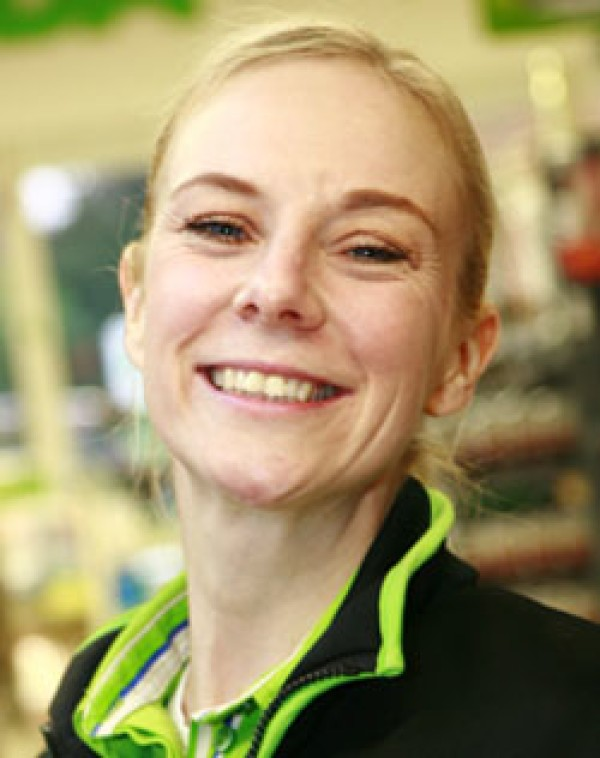 Becky Jobber from Asda Kingsthorpe in Northampton