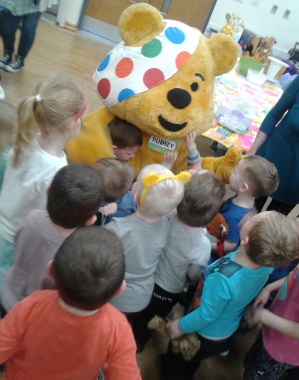 BBC Children in Need Sutton in Ashfield