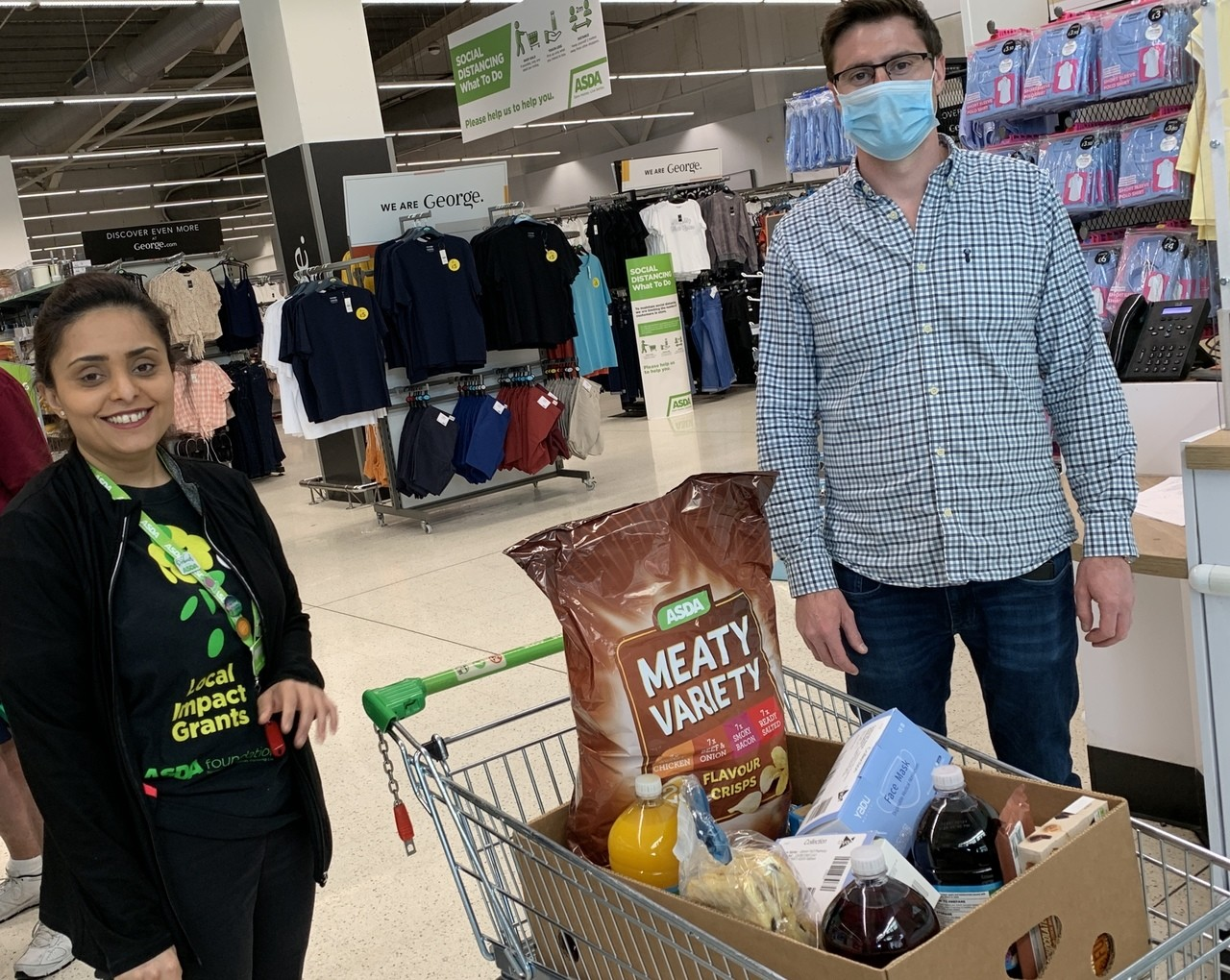 Donations are flying away | Asda Feltham