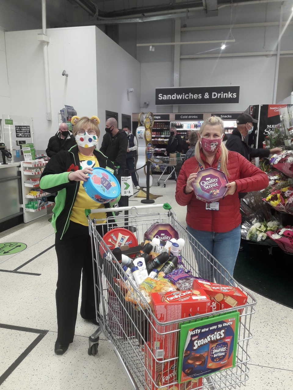 Sweet donations to hospital  | Asda South Shields