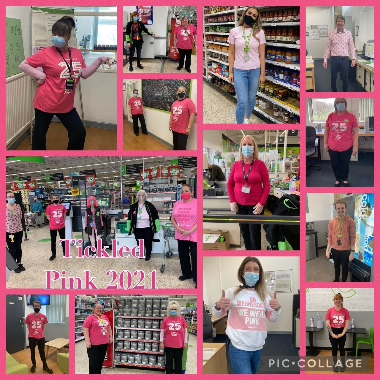 Tickled Pink marks 25 years | Asda Gosport