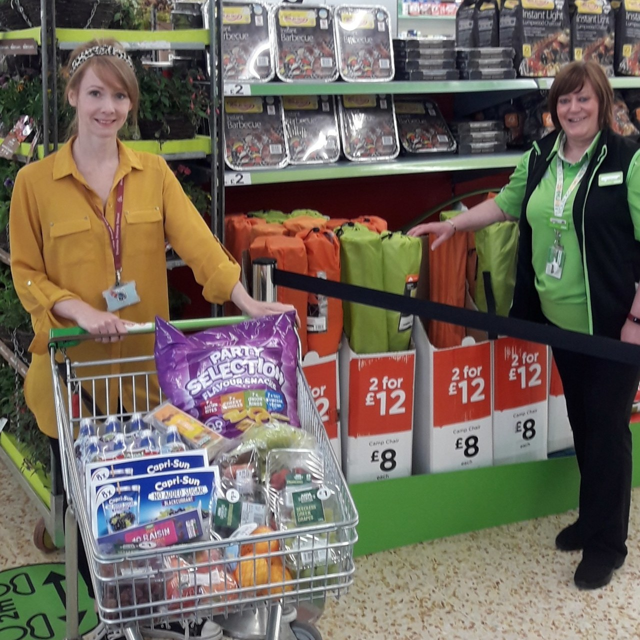 School donation | Asda Cramlington