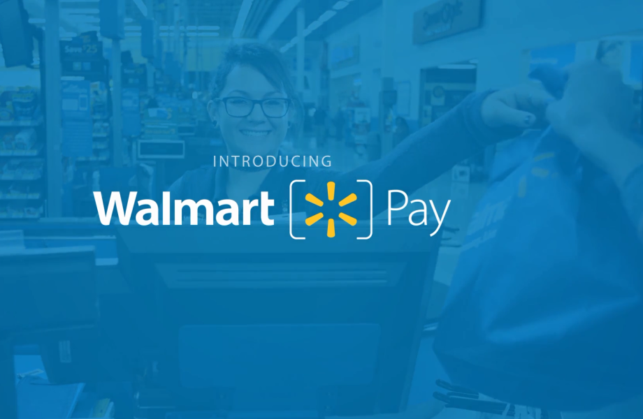 Text reads: Introducing Walmart Pay