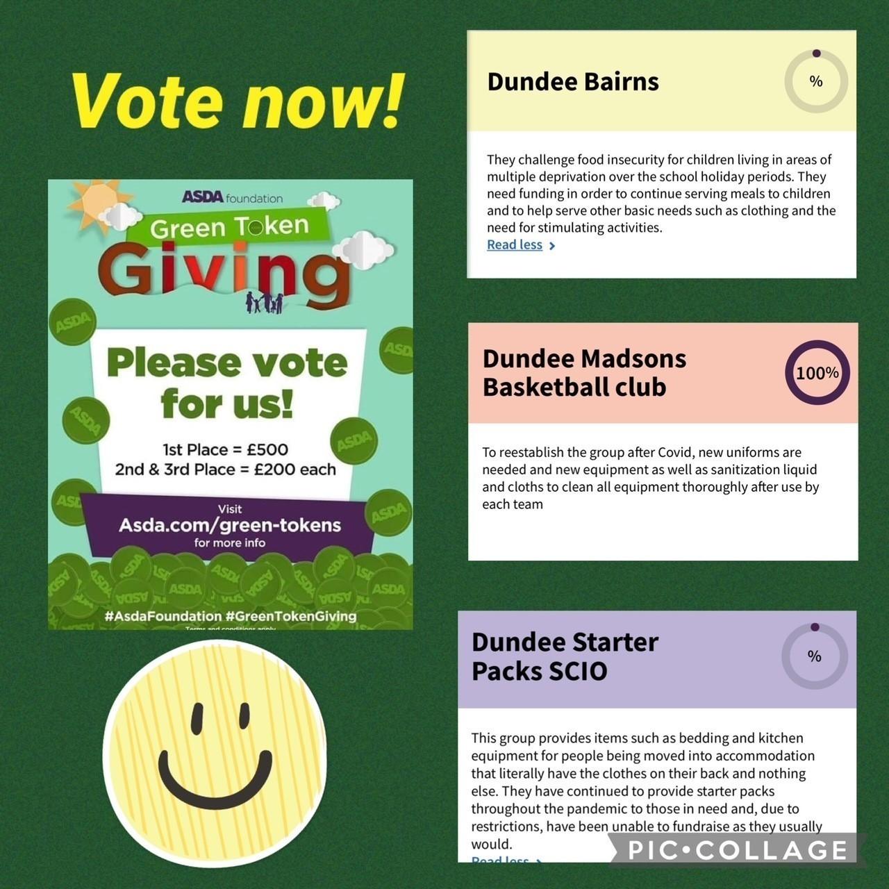 Green tokens are back! | Asda Dundee Kirkton