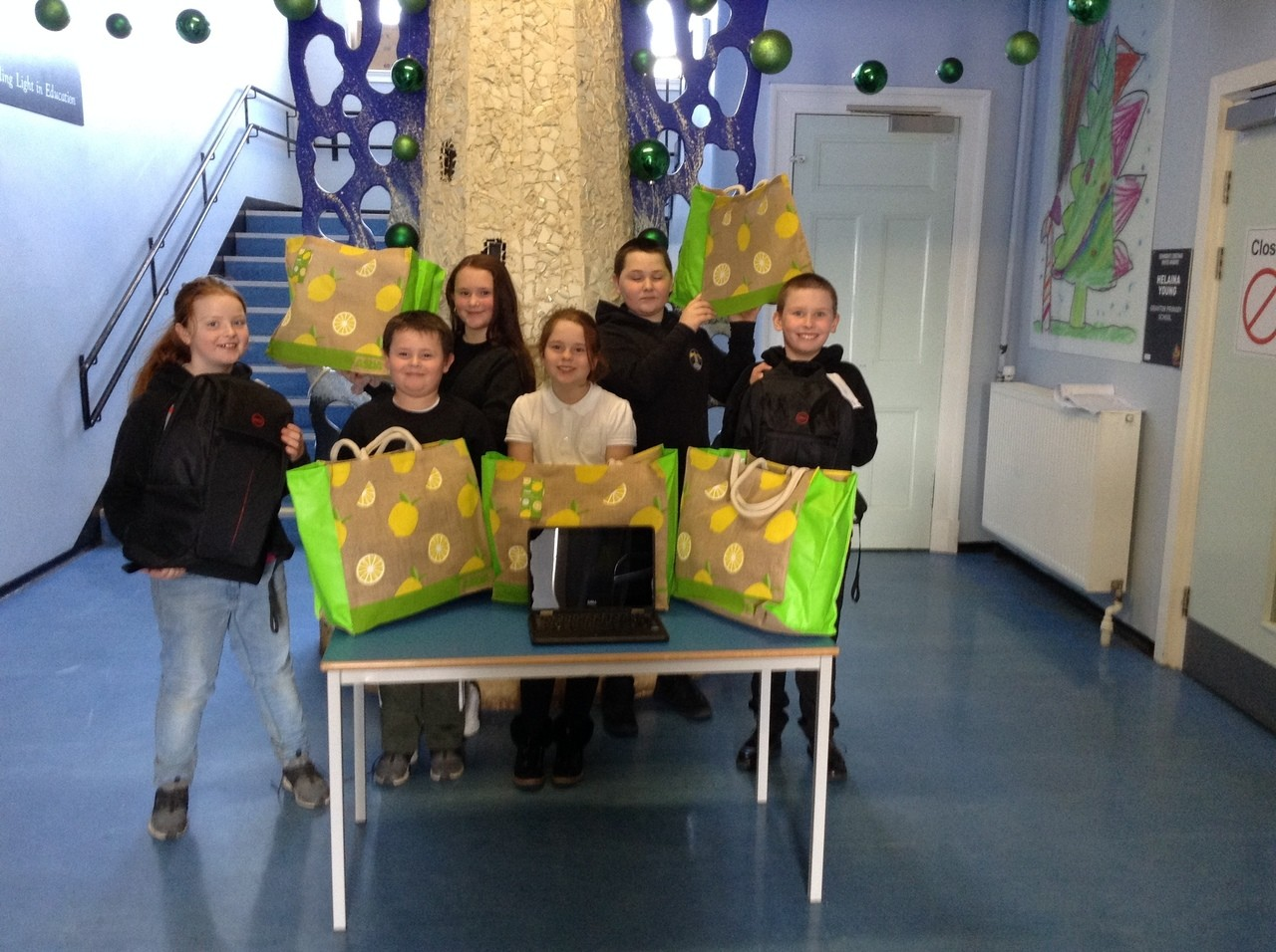 Laptop donations for Granton Primary School | Asda Leith