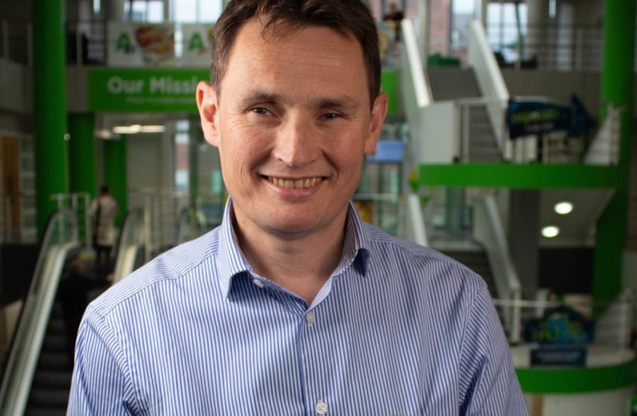 Asda Chief Financial Officer Rob McWilliam