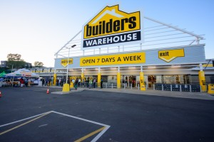Front view of a Builders Warehouse Store