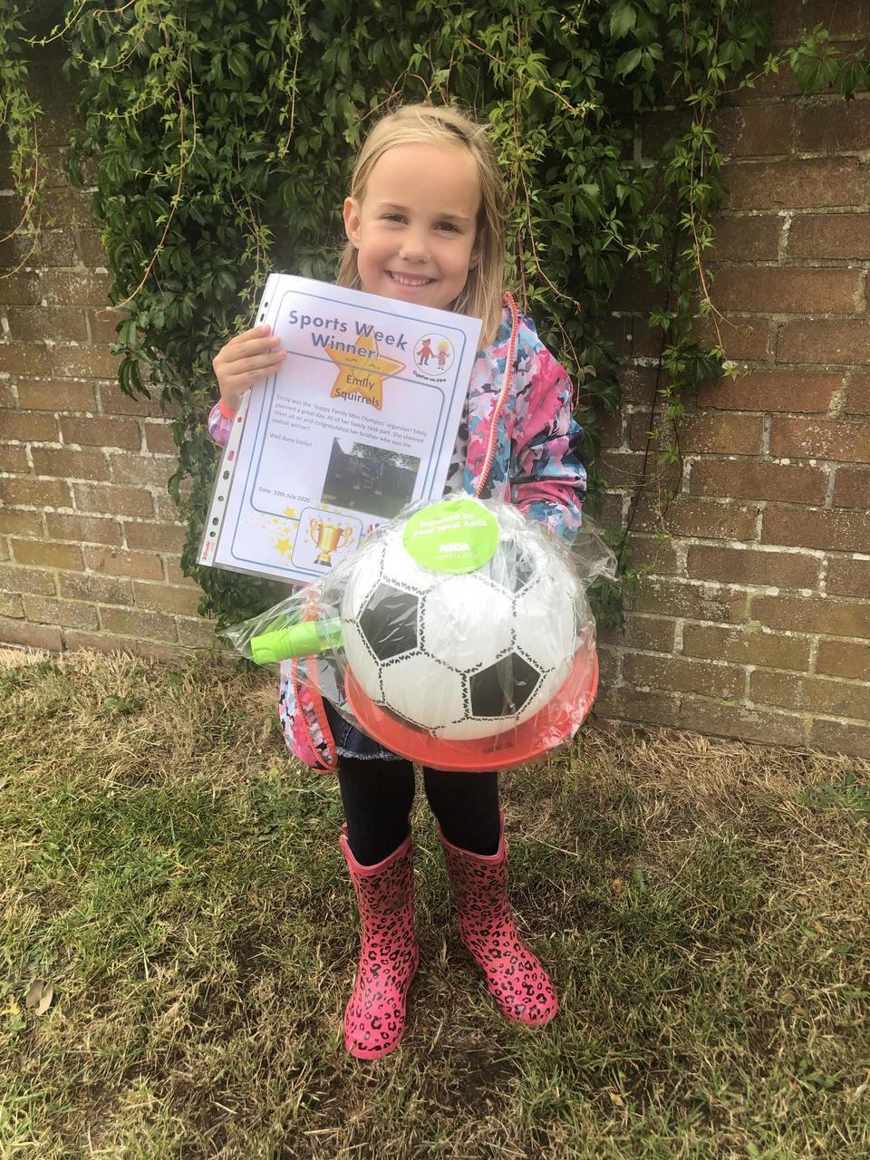 Sports day winners | Asda Gosport