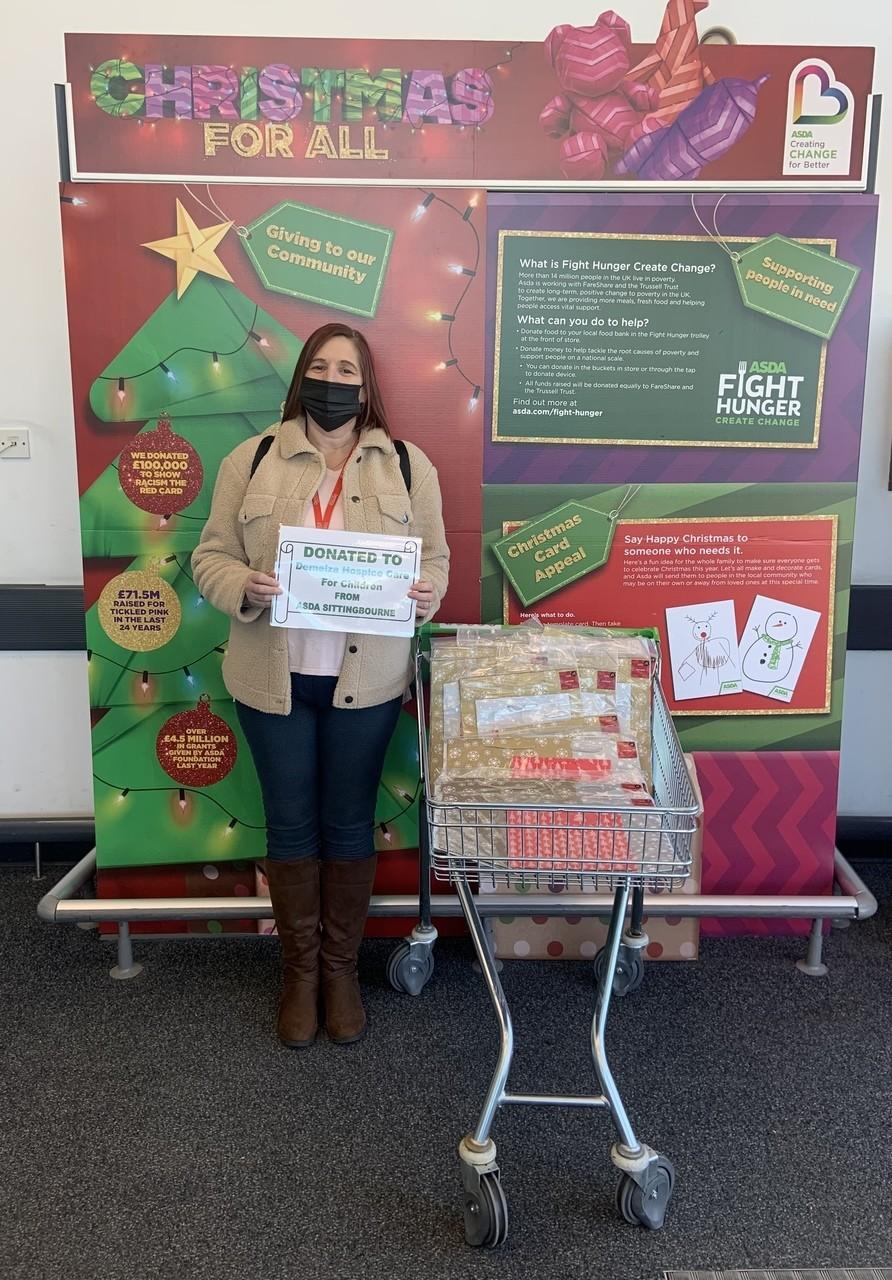 Donation to Demelza Children's Hospice | Asda Sittingbourne