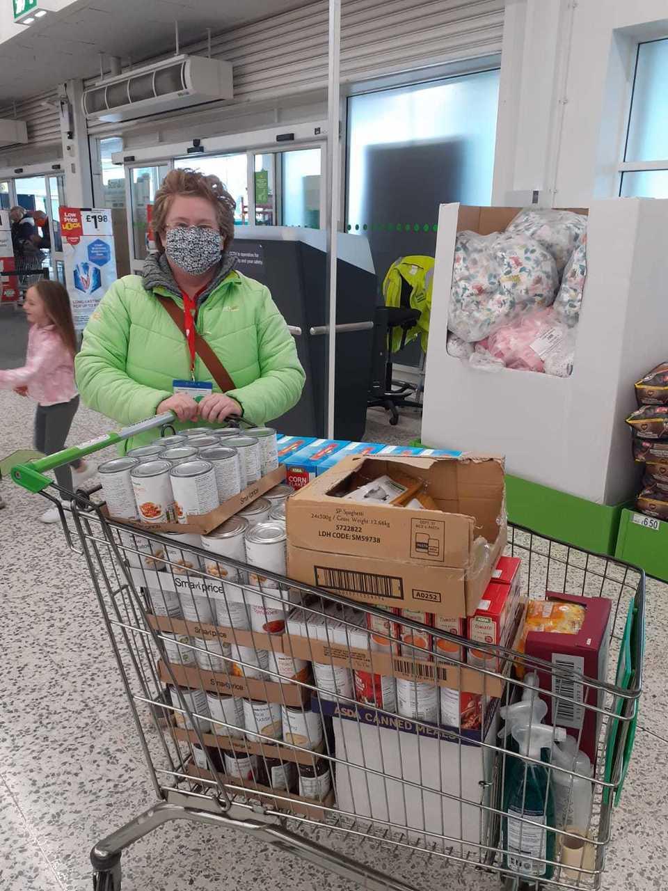 Portchester Food Bank donation | Asda Fareham