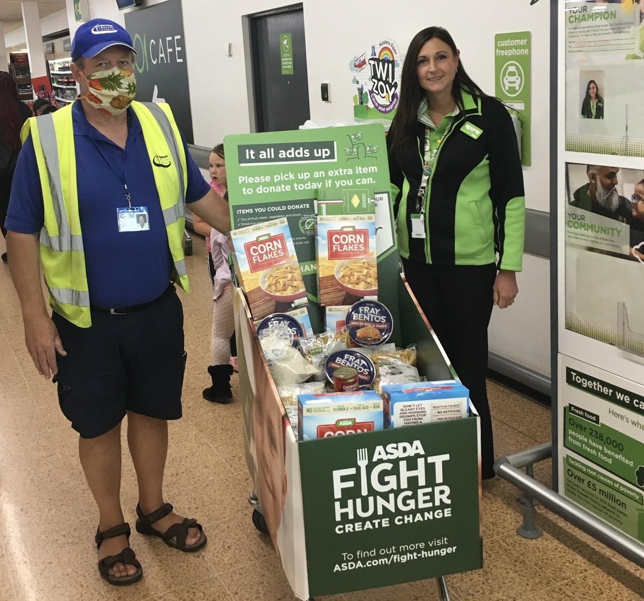 Food donations for Kingswood East Bristol Foodbank | Asda Longwell Green