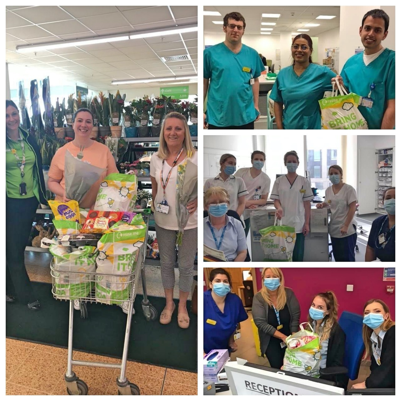 Donation for the NHS at Southmead Hospital Bristol  | Asda Longwell Green