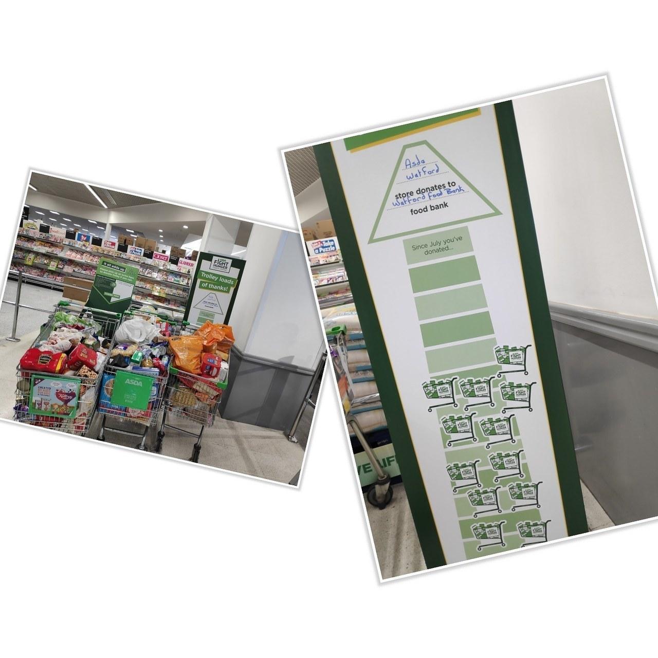 Asda Watford Fight Hunger initiative | Asda Watford