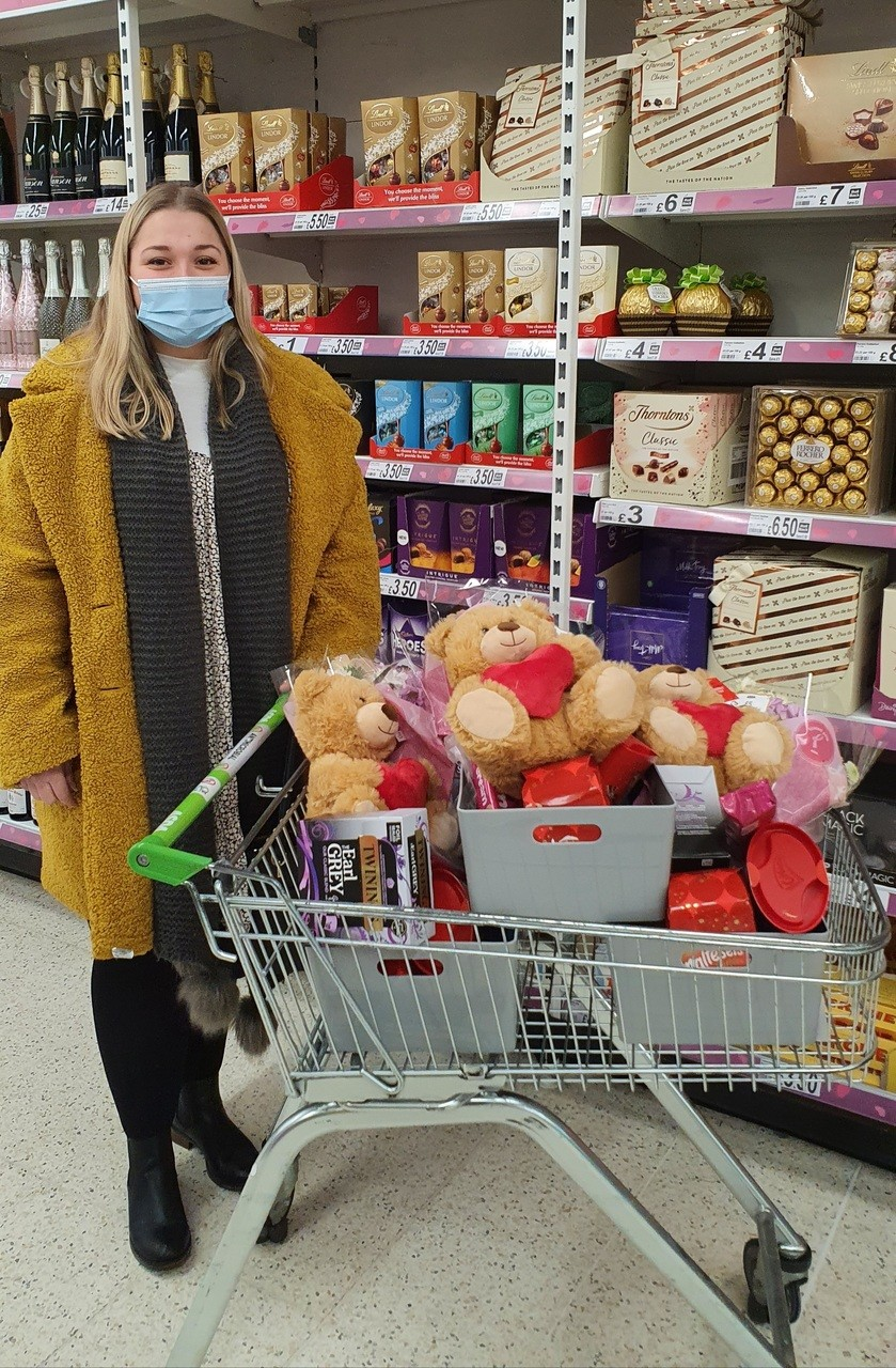 Spreading Valentine's cheer | Asda Grantham