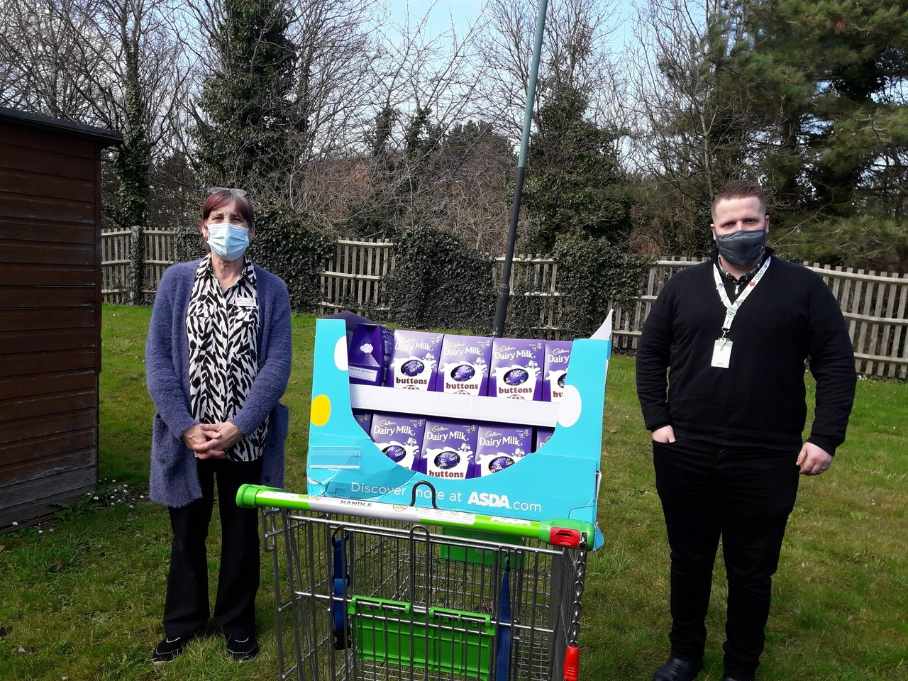We donated Easter eggs to all the residents of our local nursing home. | Asda Taunton