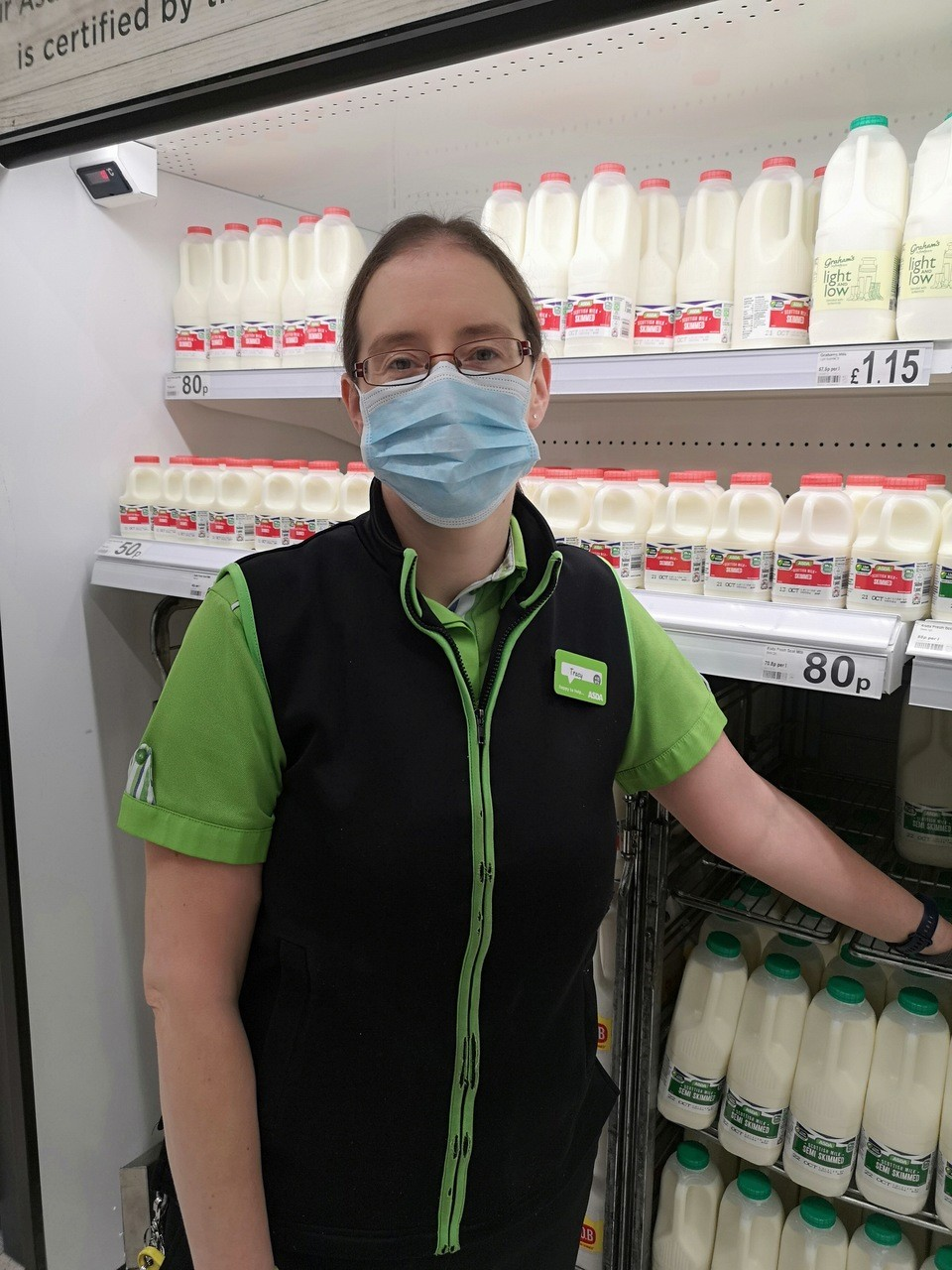 Tracey started as a Christmas temp and she's still at our Elgin store 20 years later | Asda Elgin