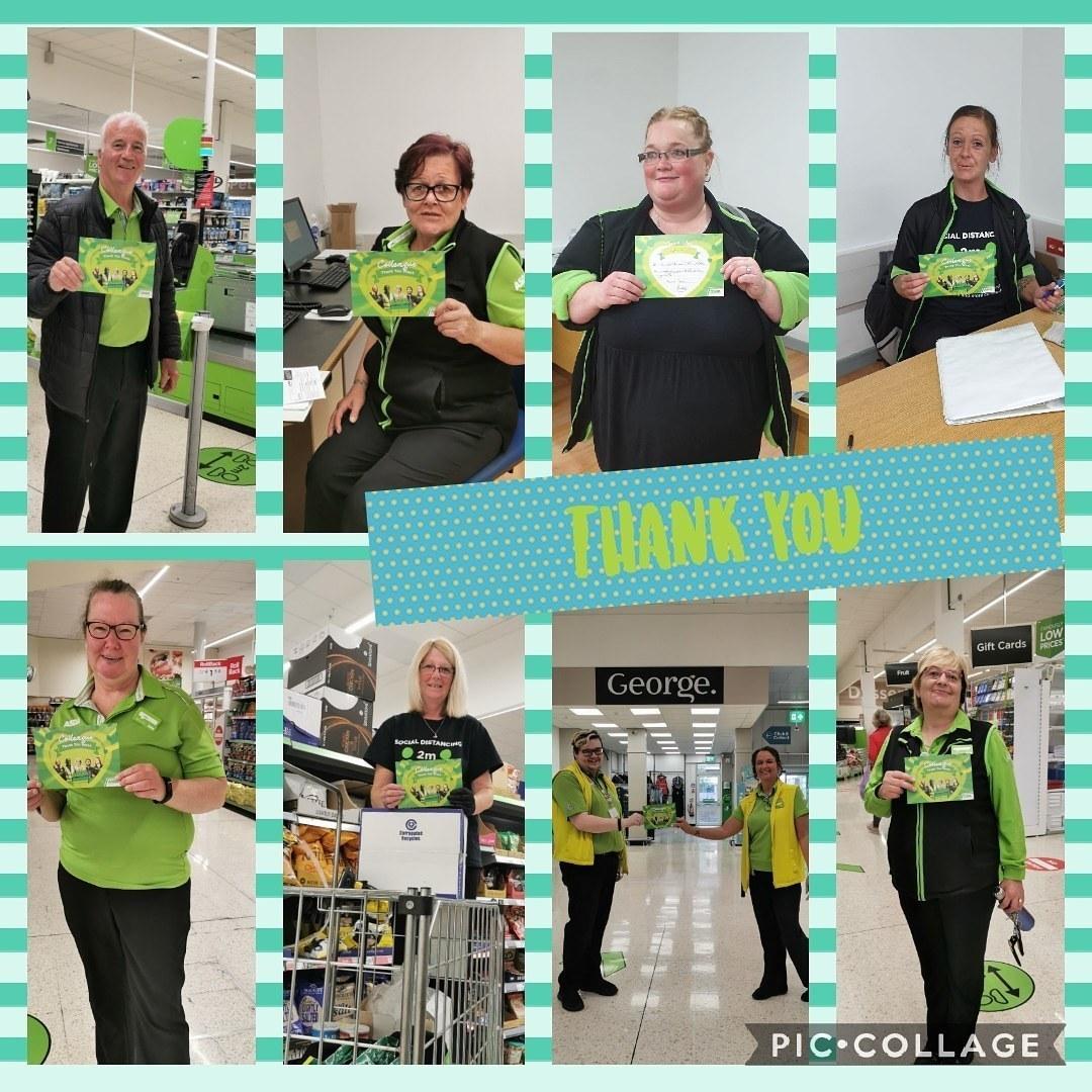 Thank you everyone at Asda Falkirk | Asda Falkirk