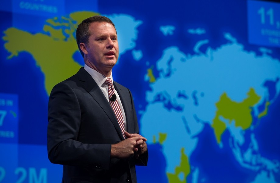 Doug McMillon addresses analysts_10.15.14